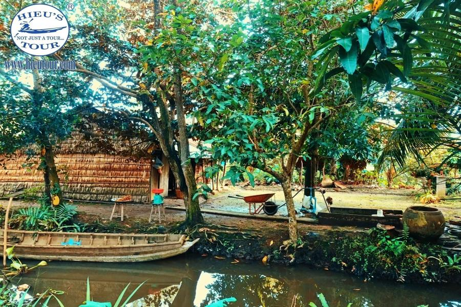 CAN THO - FLOATING MARKET - BIRD SANCTUARY .HIBHH1 color
