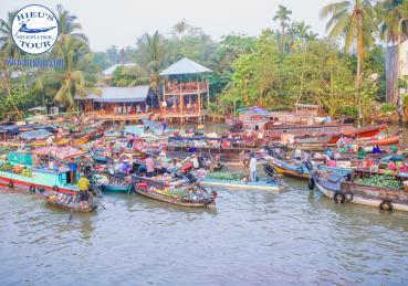 A Corner of Phong Dien Floating Market - Góc Nhỏ Chợ Nổi Phong Điền - Can Tho City Tour